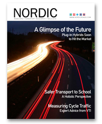 Cover of Nordic Road and Transport Research 2-2012