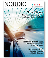 Cover of Nordic Road and Transport Research 1-2013