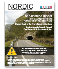 Cover of Nordic Road and Transport Research 2-2014